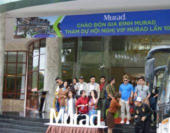 Swiss-Belresort Tuyền Lâm Đà Lạt đón tiếp đoàn Murad
