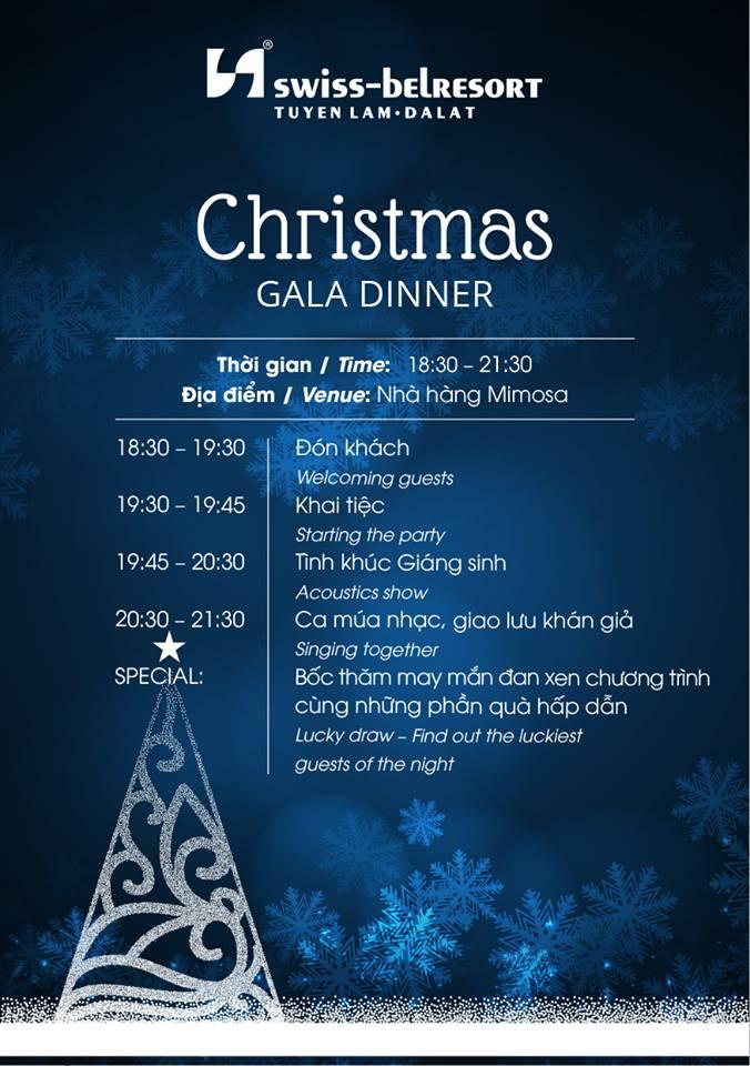 CHRISTMAS GALA DINNER 2018