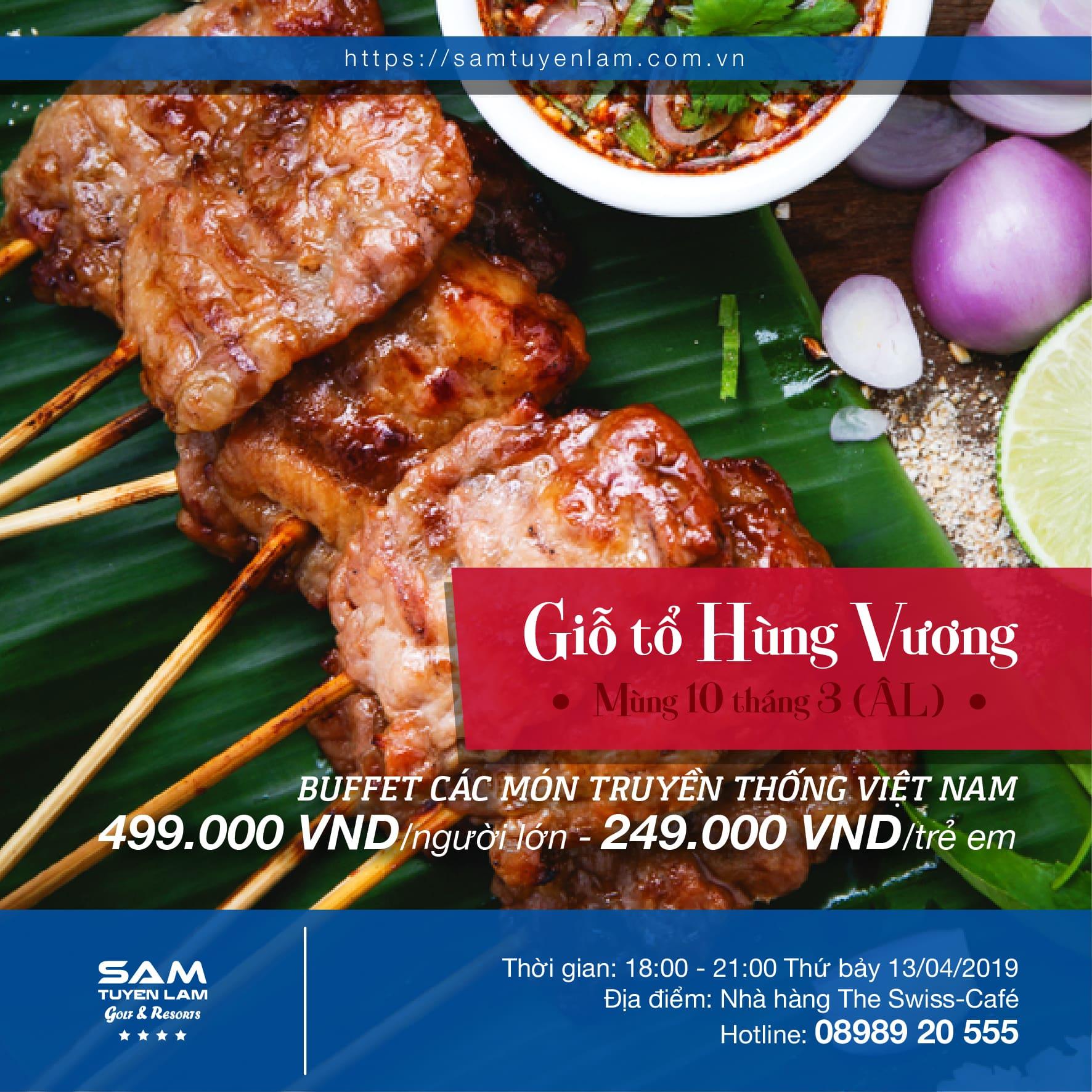 (Tiếng Việt) GIỖ TỔ HÙNG VƯƠNG ĂN GÌ? Ở ĐÂU?