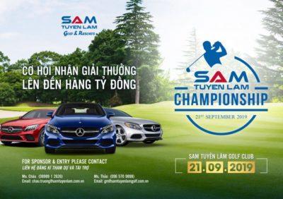 (Tiếng Việt) Sự kiện đặc biệt nào sắp diễn ra vào tháng 9 này tại SAM Tuyền Lâm Golf Club?