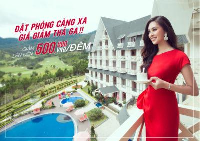 """(Tiếng Việt) """"Đặt phòng liền tay nhận ngay ưu đãi"""" – Giảm giá lên đến 500.000 VNĐ/1 đêm"""